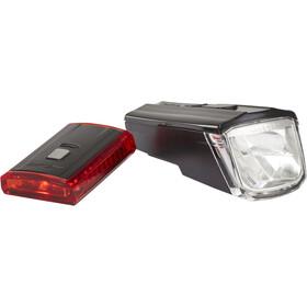 XLC Comp CL-S16 Lighting Set Titania, black